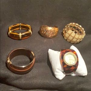 Jewelry - Bangle bracelets and watch